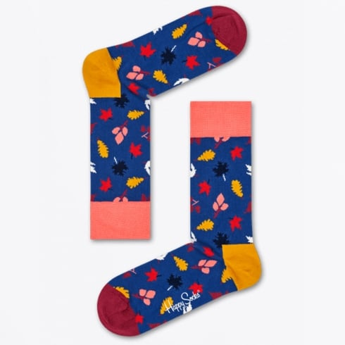 Happy Socks - Fall Sock - Blue