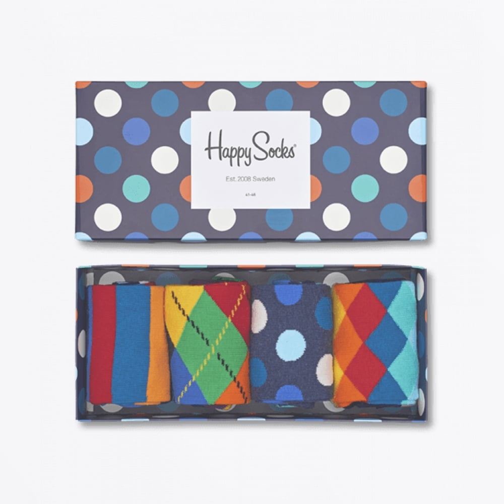 Happy Socks | Mix Socks Gift Box - Multi | Mr & Mrs Stitch