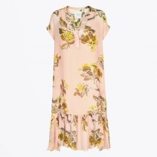   Helen Midi Dress - Light Pink