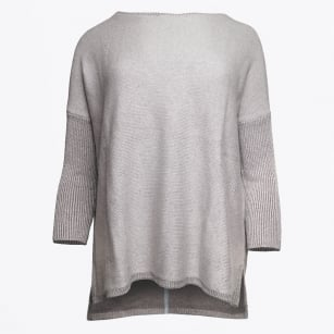 - Cashmere Sweater - Stone