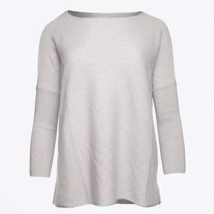 | Cashmere Sweater - Whisper Blue