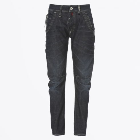 High - Havoc - Stitch-Sectioned Relaxed Fit Jeans
