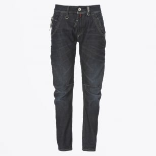 - Havoc - Stitch-Sectioned Relaxed Fit Jeans