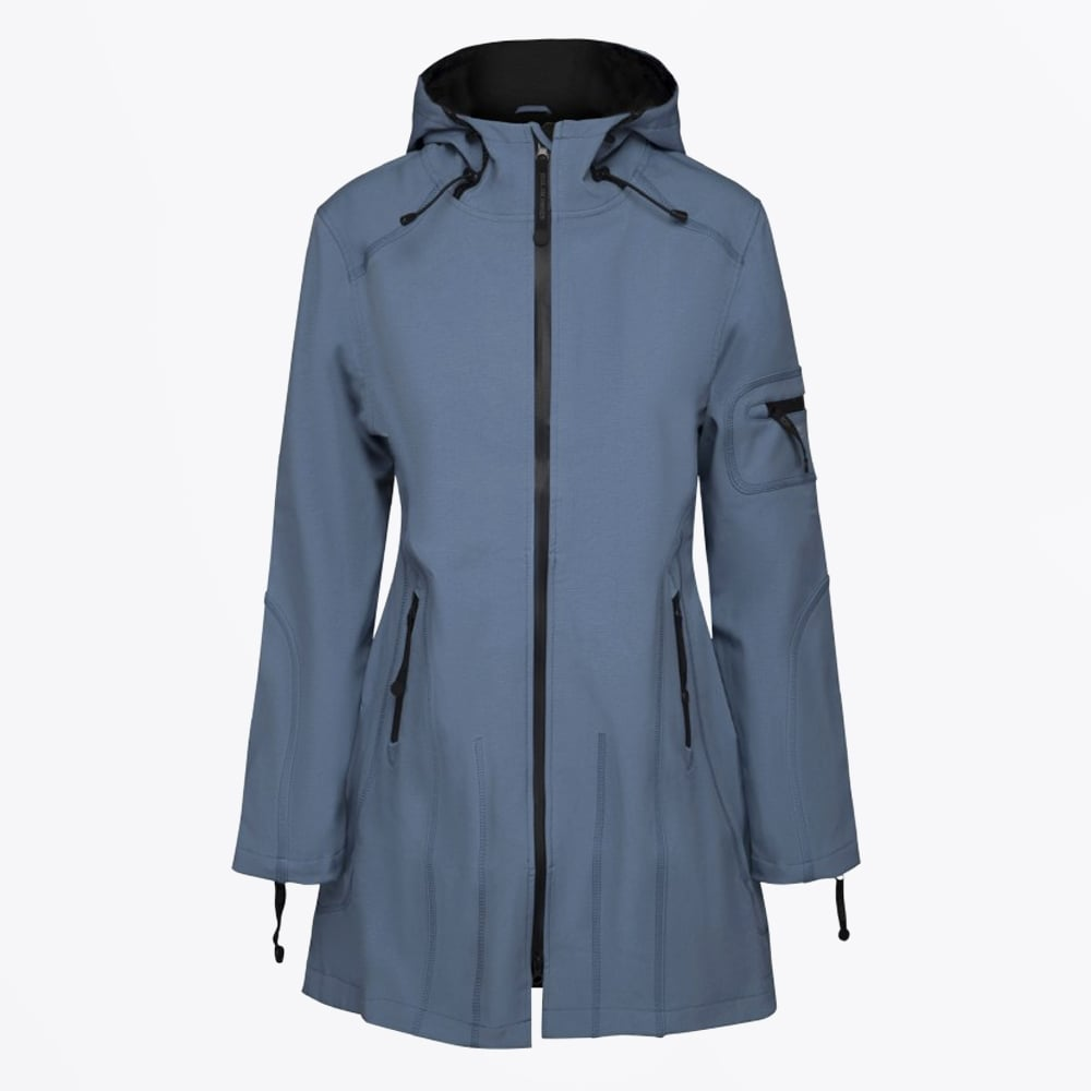 3/4 Length Softshell Raincoat | Coats for Women
