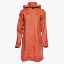 - Rain 71 Lightweight Raincoat - Light Brick