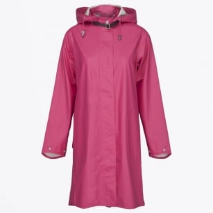 - Rain  71 Lightweight Raincoat - Warm Pink