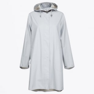- Rain 71 Lightweight Raincoat - White/Blue