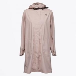 | Rain 71 - Oversize Hooded Mac - Peach Whip