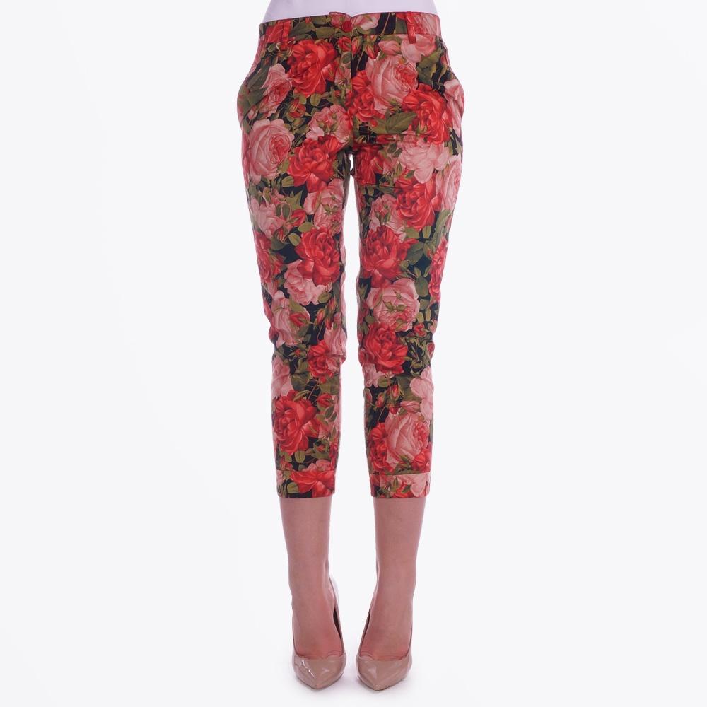 Floral Capri Pants| Pants For women | Capri Pants | Isabel de Pedro