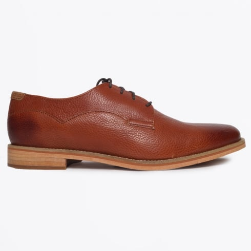 J Shoes - Indi Vienna Pull Up Shoes - Tan