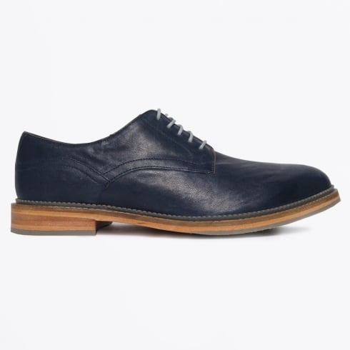 J Shoes - Matthew Benetta Cow Calf Shoe - Navy
