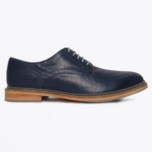 - Matthew Benetta Cow Calf Shoe - Navy