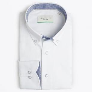 | Square Woven Shirt - White