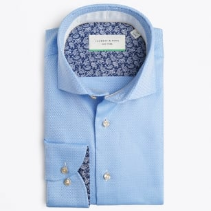 | Woven Fabric Shirt - Blue