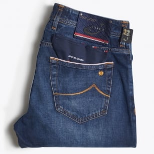 - J622 Comfort Jeans - Denim Blue