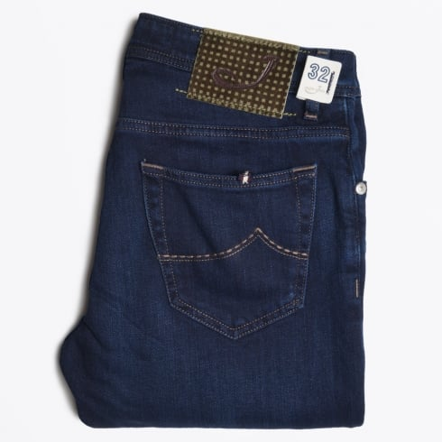 Jacob Cohen - J622 Comfort Low Rise Jeans - Navy