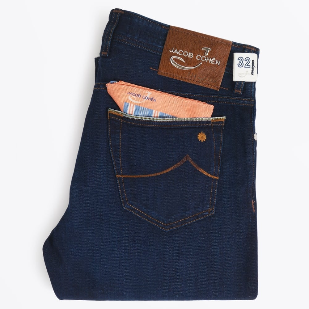 J688 High Rise Limited Edition Jeans - Dark | Mens Jeans |Jacob Cohen