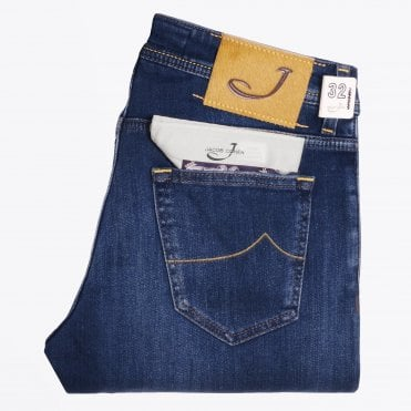 - PW622 Comfort Jeans - Mid Wash