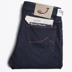 - PW688 Comfort Jeans - Dark Blue
