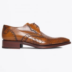 | Poison Libertine Burnish Detail Shoes - Tan