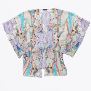 | Parrot Kimono - Orange