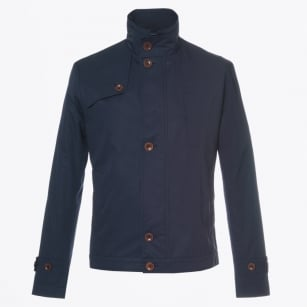 | Bates Harrington Style Jacket - Navy