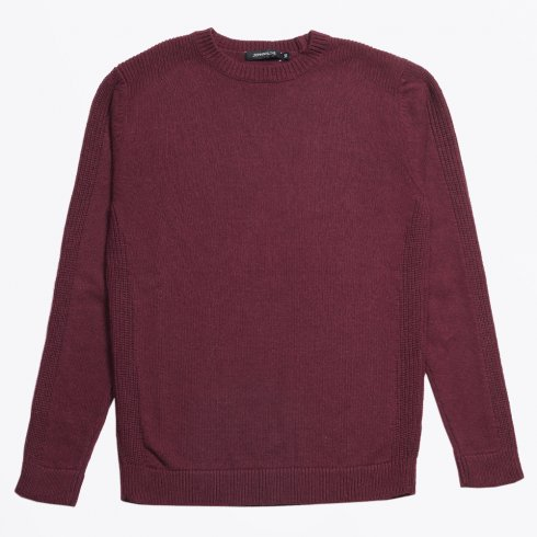 Johnny Love - Chamberlin Military Jumper - Burgundy