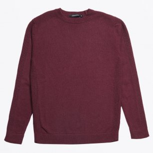 | Chamberlin Military Jumper - Burgundy