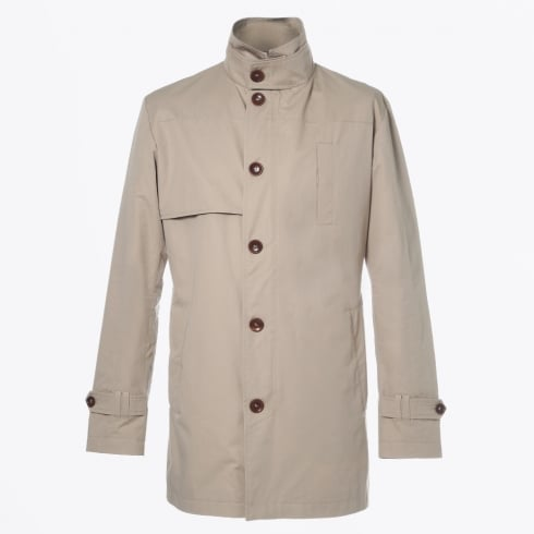 Johnny Love - Coccotti Mid Length Trench Coat - Sand