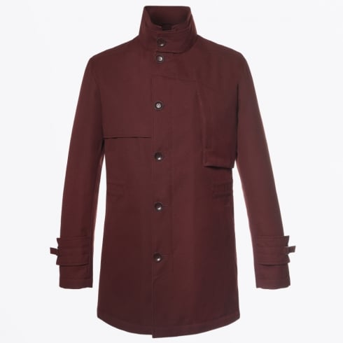 Johnny Love - Coleman Button High Collar Jacket - Rust