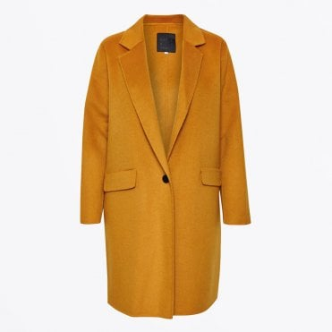 - Elgin Coat - Mustard