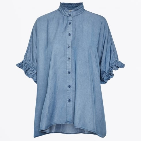 Karen By Simonsen - Tactic Denim Blouse