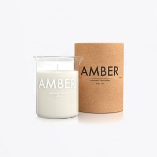 - Scented Candle - Amber