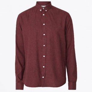 - Preppy Desert Shirt - Burgundy