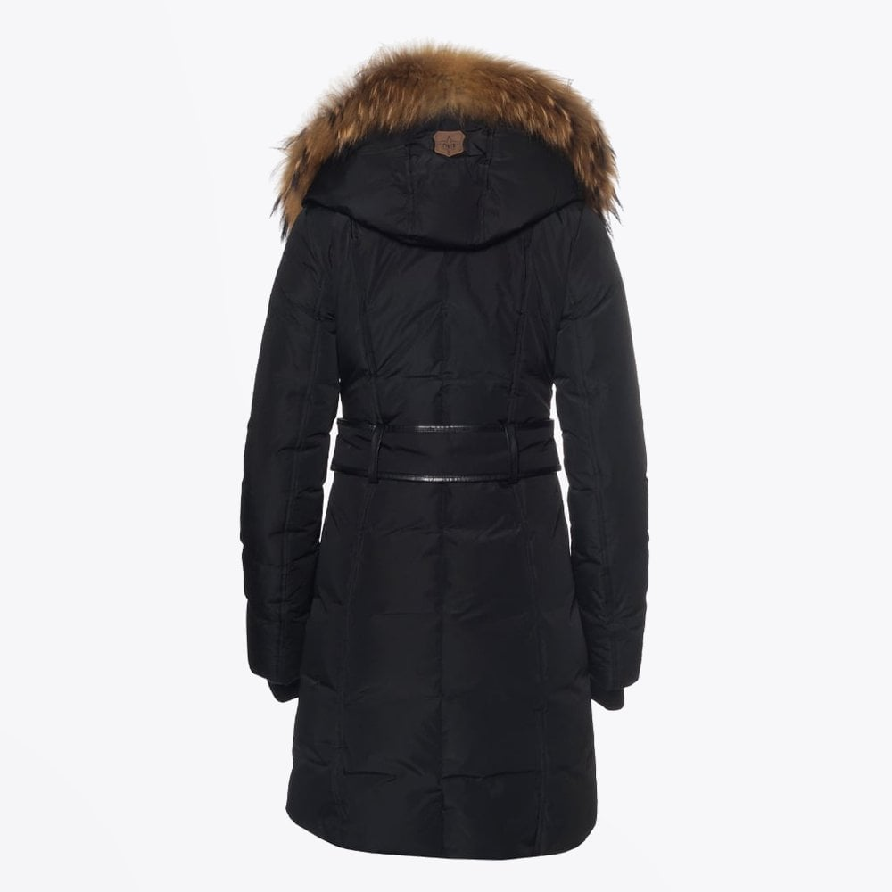 clients first classic styles 50-70%off Mackage Kay Mid Length Winter Down Coat With Fur Collar – Black