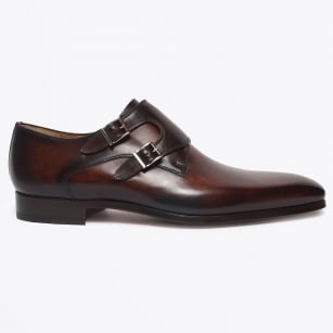 | Monk Buckle Shoe - Tobacco