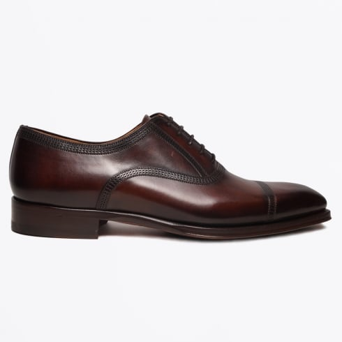 Magnanni - Wind Laser Lace Up Shoes - Brown