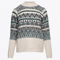 - Fairisle Kint - Black Varied