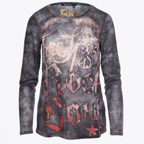 Marc Aurel - Free Spirit Printed Top