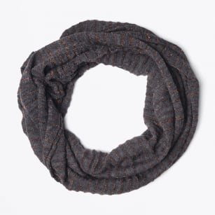 - Lurex Snood - Dark Grey