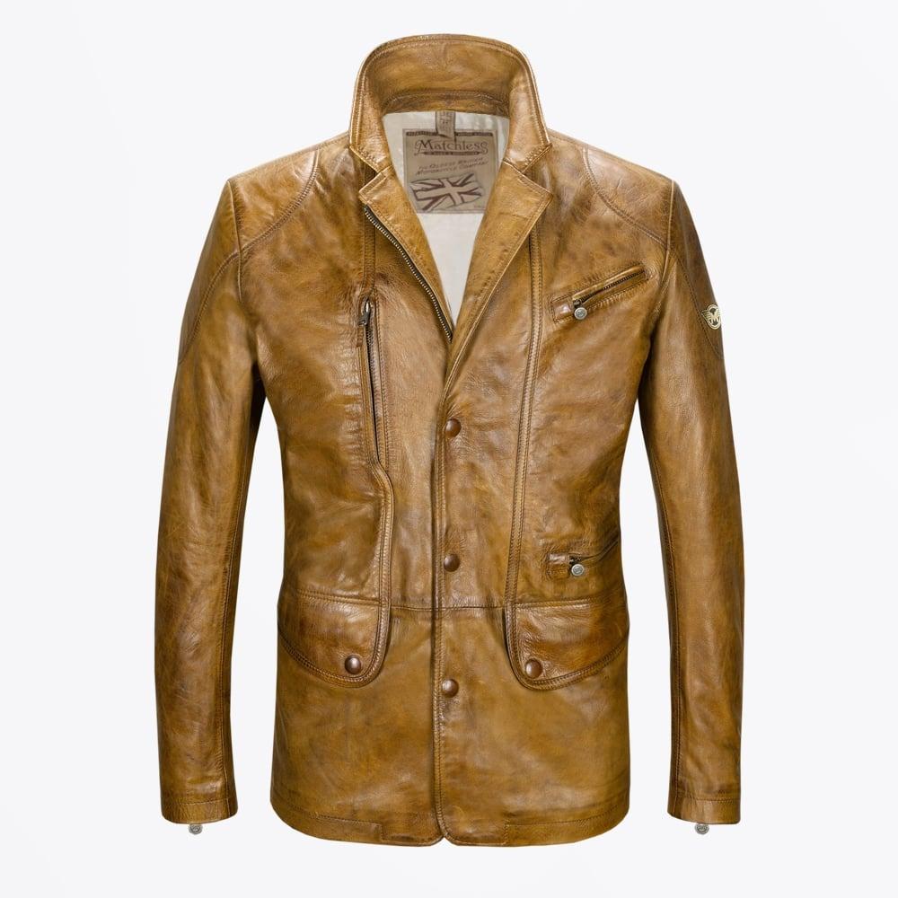 Leather jacket boston
