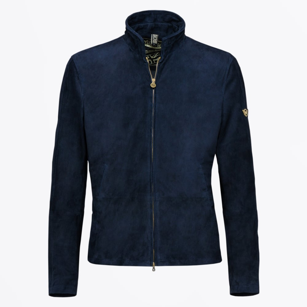 Matchless London   Manx Shearling Jacket - Brown   Mr