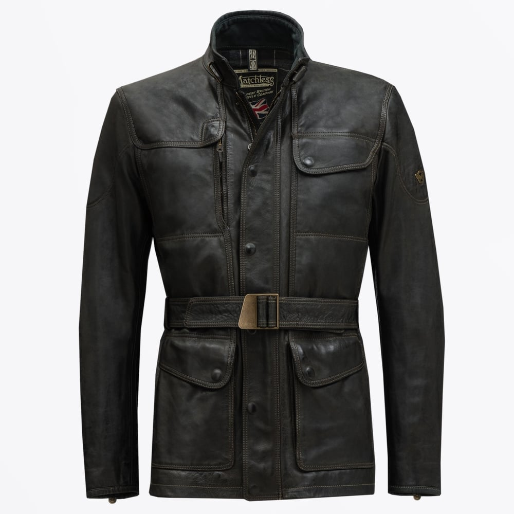 Leather jacket sale - Matchless London Kensington Leather Jacket Black