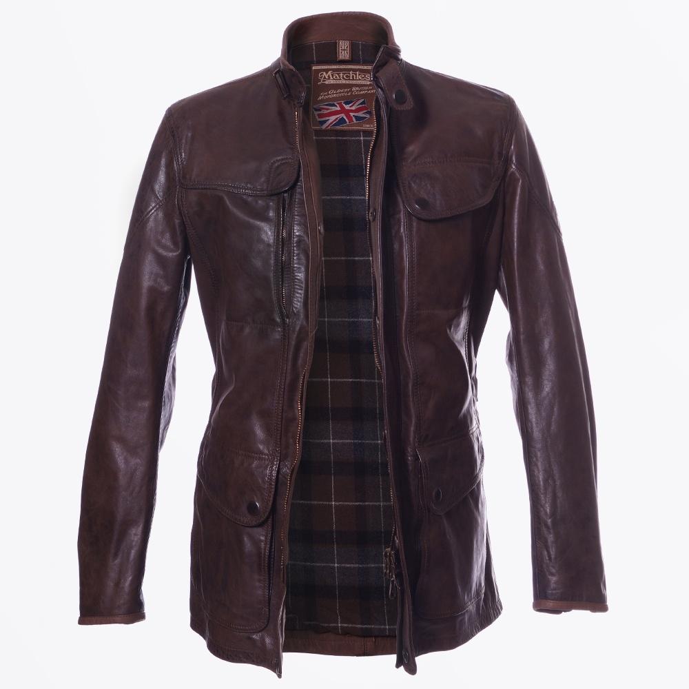 Matchless London   Osbourne Blouson Jacket - Black   Mr