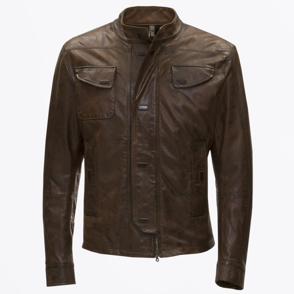 Matchless London   Osborne Blouson Jacket - Burgundy   Mr
