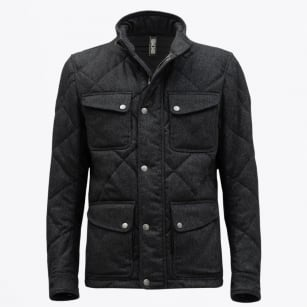 | Nettleton Jacket | Quilted Wool - Grey