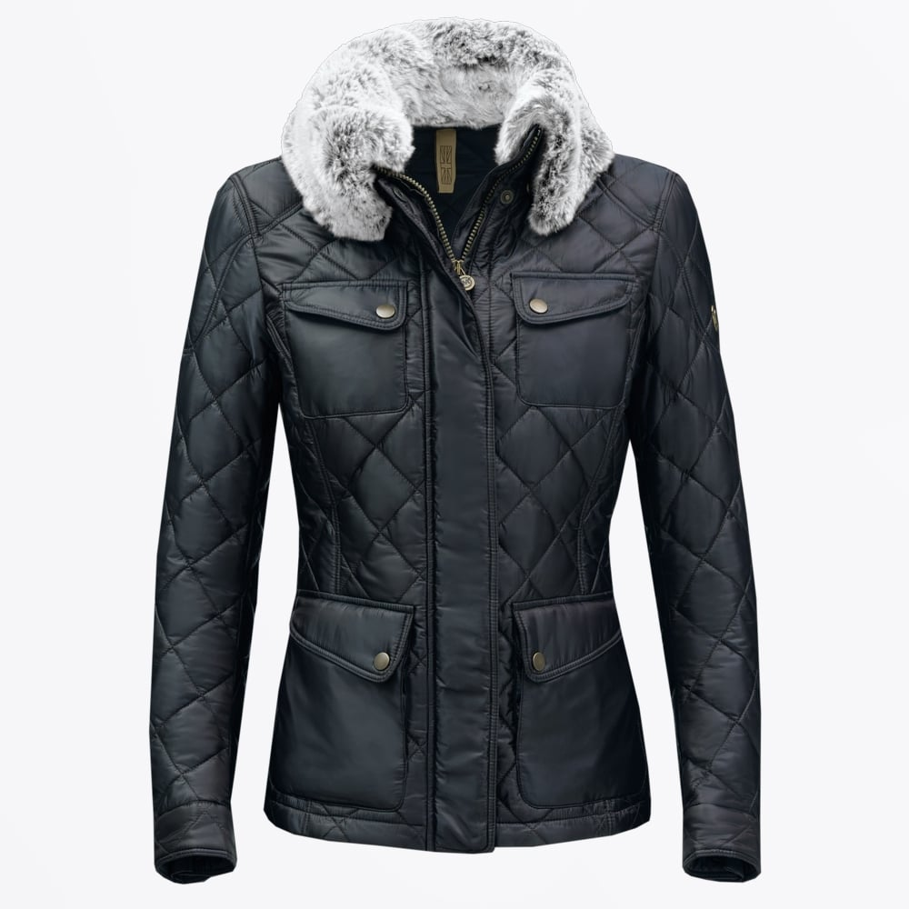 Matchless London Craig Blouson Leather Jacket Black - Mr