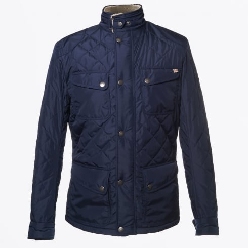 Matchless London - New Nettleton Jacket - Nylon Quilted - Navy