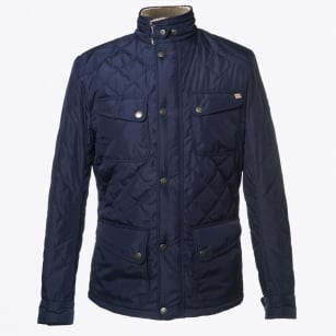   New Nettleton Jacket   Nylon Quilted - Navy