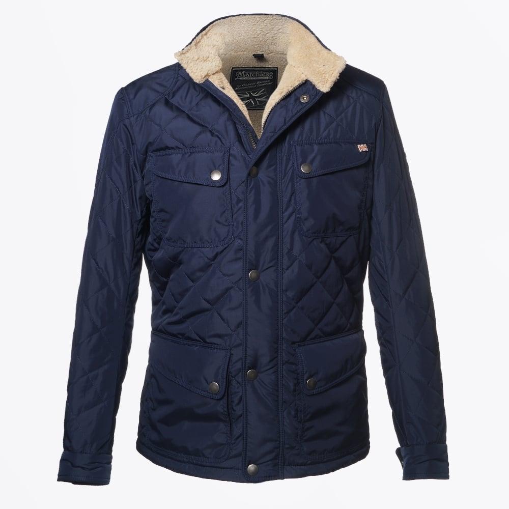 Matchless London   Stark Leather Jacket - Lead Grey   Mr